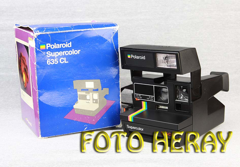 polaroid 635 cl supercolor sofortbildkamera 02299 ebay. Black Bedroom Furniture Sets. Home Design Ideas